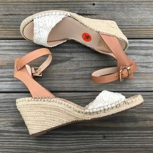 Vince Camuto Women Wedge Heels Espadrille Shoe 9.5